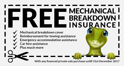 Free Mechanical Breakdown Insurance for Private Sales